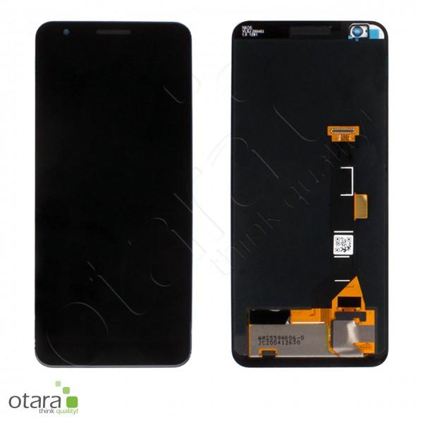 Displayeinheit (LCD only) Google Pixel 3A, schwarz, Serviceware