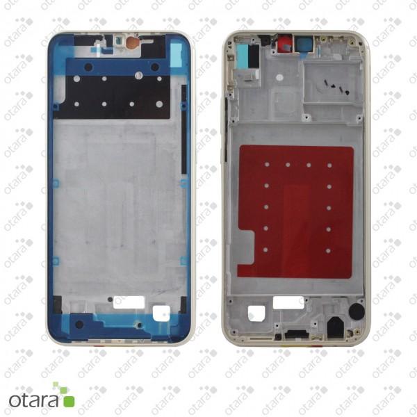 Huawei P20 Lite geeigneter Mittelrahmen ohne Akku, platinum gold