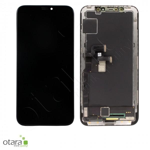 Displayeinheit geeignet für iPhone X (refurbished), schwarz