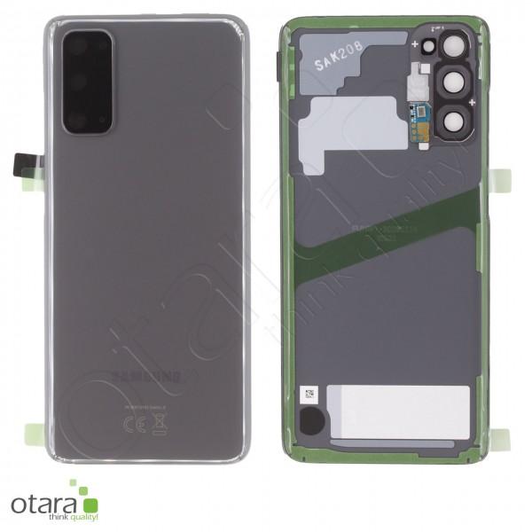 Akkudeckel Samsung Galaxy S20 (G980F,G981B), cosmic grey, Serviceware