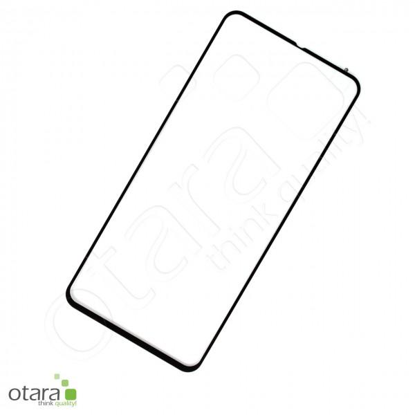 Schutzglas Edge to Edge (full glue) für Samsung Galaxy A80, schwarz (ohne Verpackung)