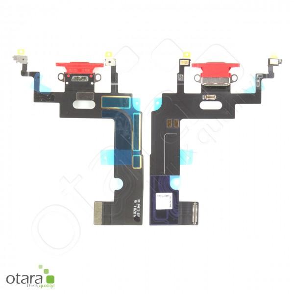 Lade Konnektor Flexkabel geeignet für iPhone XR (ori/pulled), rot