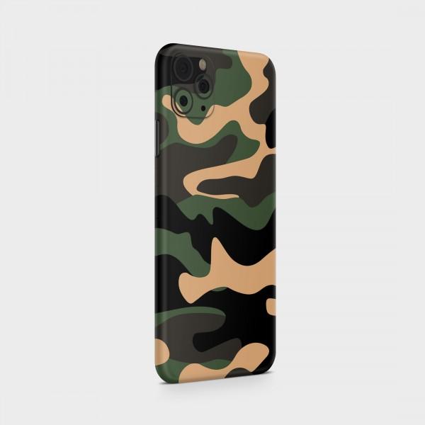 "GREEN MNKY Backcover Skin Smartphone 7"" (Struktur Serie) ""Camouflage Safari Backfilm"" [3 Stück]"