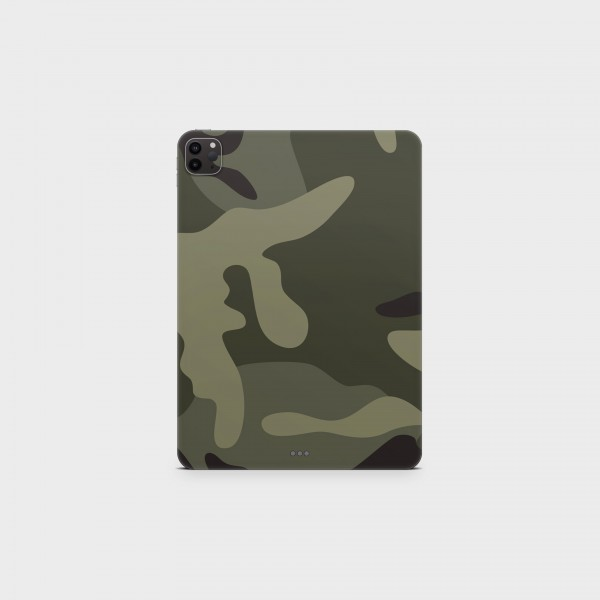 "GREEN MNKY Backcover Skin Tablet 11"" (Struktur Serie) ""Camouflage Trees"" [3 Stück]"