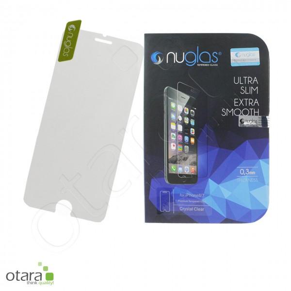 Schutzglas Nuglas (extra dünn 0,3 mm) iPhone 7/8 (mit Verpackung)