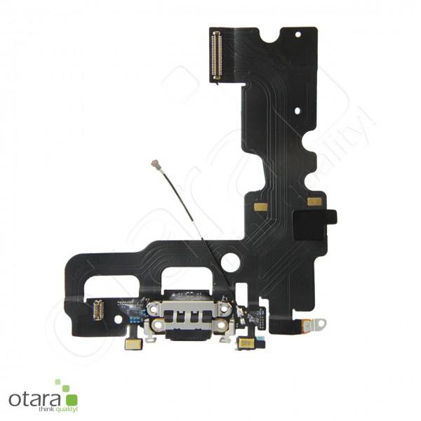 Lade Dock Connector Mikrofon Flex geeignet für iPhone 7 (Ori/pulled Qualität), schwarz
