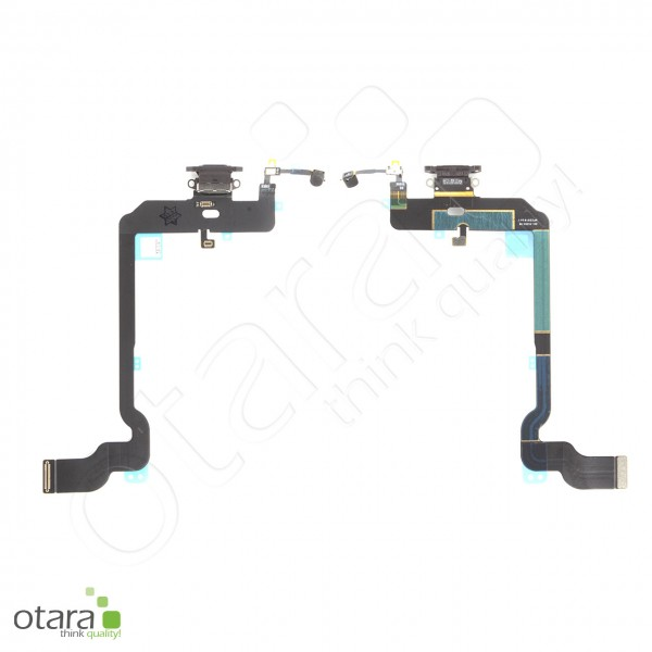 Lade Konnektor Flexkabel geeignet für iPhone XS (Ori/pulled Qualität), schwarz