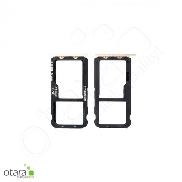 Huawei Mate 20 Lite SIM Tray, platingold, Serviceware