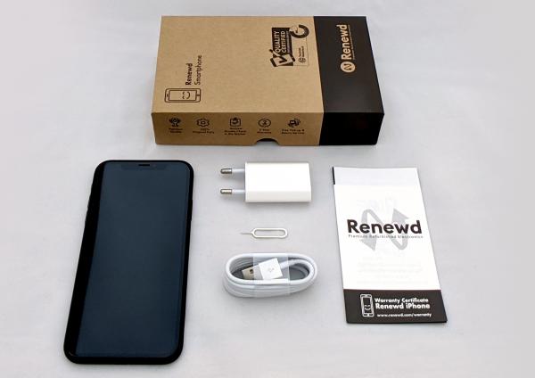 Renewd© Apple iPhone XR, 128GB (zert. aufbereitet), schwarz