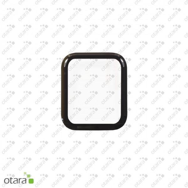 Schutzglas Edge to Edge für Apple Watch 40mm (4./5.Gen.), schwarz