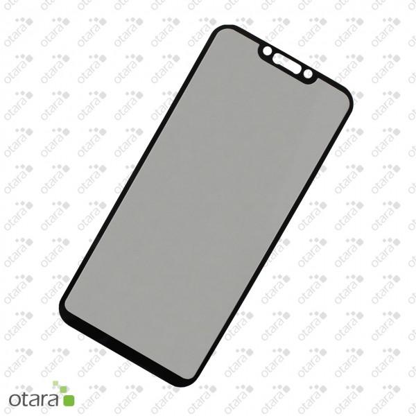 Panzerglas Edge to Edge, full glue für Huawei Mate 20 Lite, schwarz (ohne Retail Verpackung)