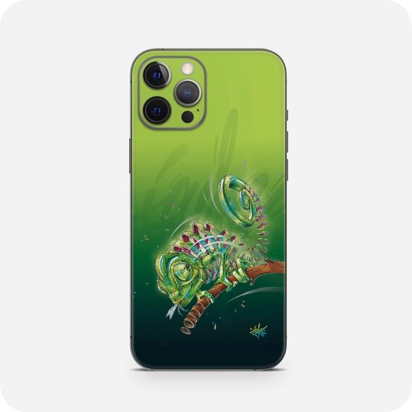 "GREEN MNKY Backcover Skin Smartphone 7"" (Jayn Kollektion) ""Chameleon"" [3 Stück]"