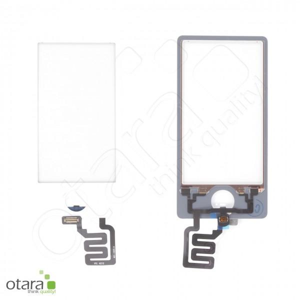 Toucheinheit/Glas geeignet für iPod Nano 7, weiß