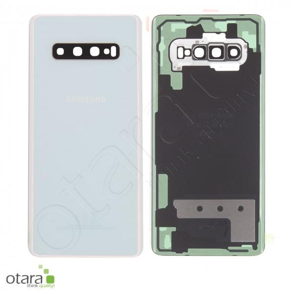 Akkudeckel Samsung Galaxy S10 Plus (G975F), Prism White, Serviceware