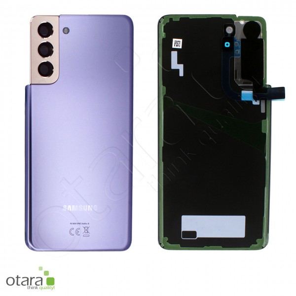Akkudeckel Samsung Galaxy S21 Plus (G996), phantom violet, Serviceware
