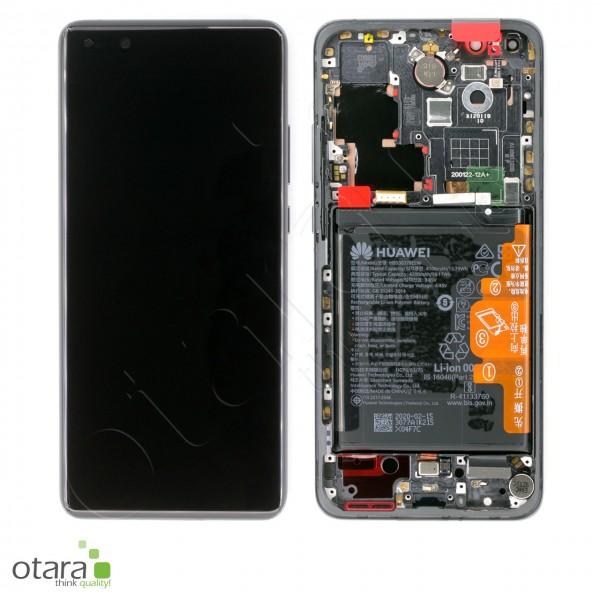 Displayeinheit Huawei P40 Pro, black, Serviceware