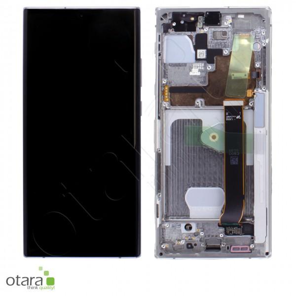 Displayeinheit Samsung Galaxy Note 20 Ultra (N985F), 5G (N986F), mystic white, Serviceware
