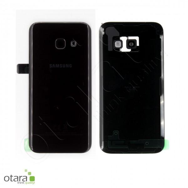 Akkudeckel Samsung Galaxy A3 2017 (A320F), schwarz, Serviceware