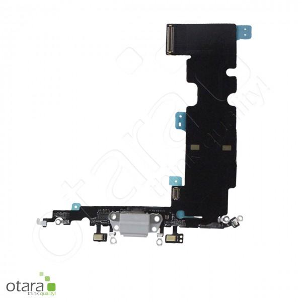 Lade Dock Connector Mikrofon Flex geeignet für iPhone 8 Plus (Ori/pulled Qualität), weiß
