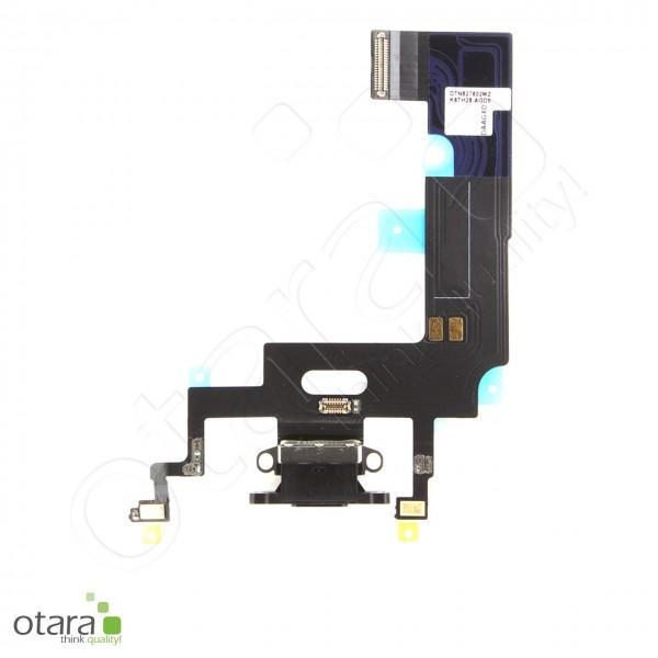 Lade Dock Connector Flex geeignet für iPhone XR (Ori/pulled Qualität), schwarz