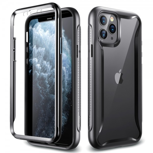 ESR Case iPhone 11 Pro Hybrid Armor 360 Black Frame