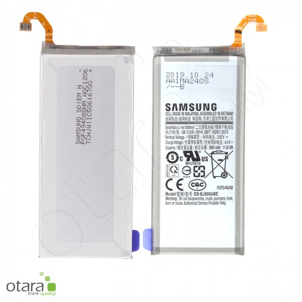 Samsung Galaxy A6 2018 (A600F), J6 2018 (J600F) Li-ion Akku (EB-BJ800ABE), 3000mAh, Serviceware