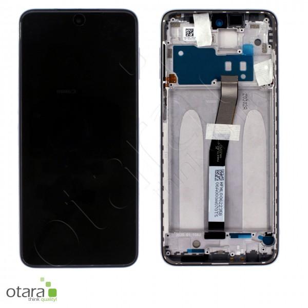 Displayeinheit XIAOMI Redmi Note 9 Pro (M2003J6B2G), Glacier White, Serviceware