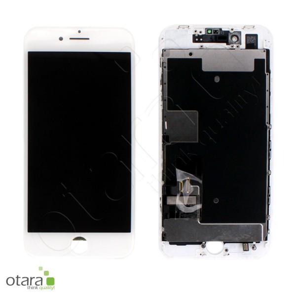Displayeinheit geeignet für iPhone 8 (Ori/pulled Qualität) inkl. Heatplate, weiß