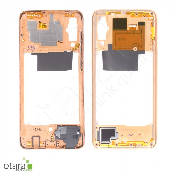 Samsung Galaxy A70 (A705F) Mittelrahmen, coral, Serviceware