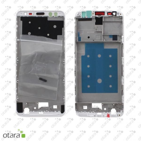 Mittelrahmen geeignet für Huawei Mate 10 Lite, weiß