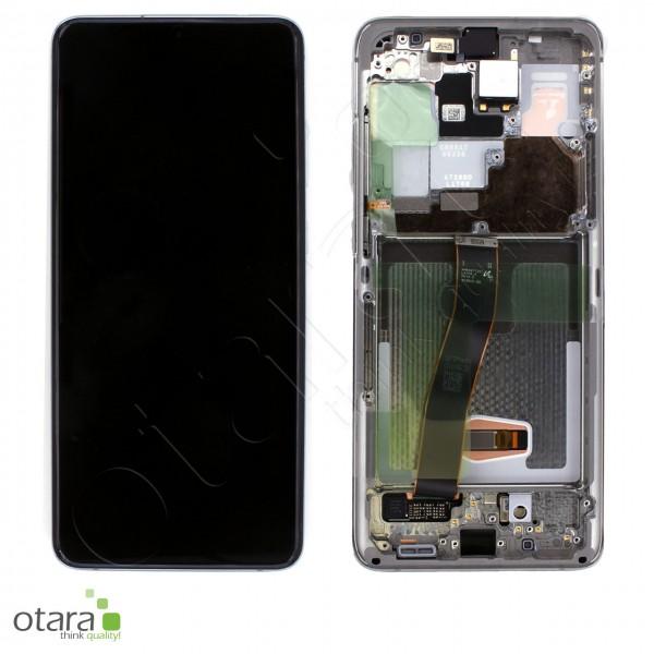 Displayeinheit Samsung Galaxy S20 Ultra (G988B), cloud white, Serviceware