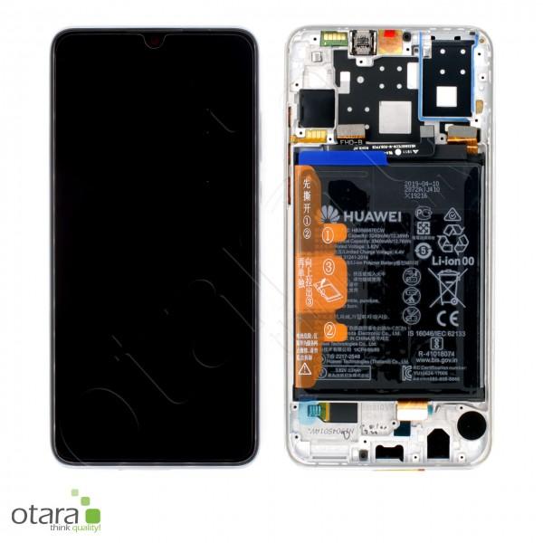 Displayeinheit Huawei P30 Lite (MAR-LX1A), pearl white, Serviceware
