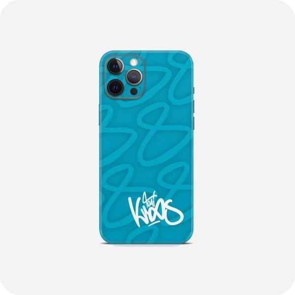 "GREEN MNKY Backcover Skin Smartphone 7"" (Toni Kroos Kollektion) ""Turquoise Signature"" [3 Stück]"