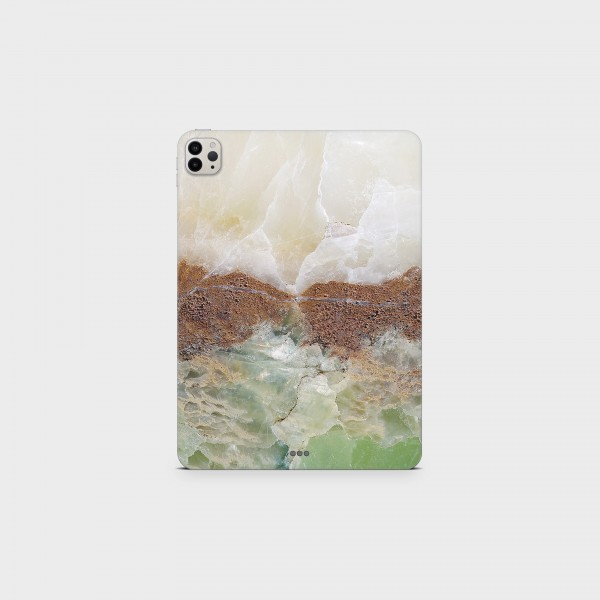 """GREEN MNKY Backcover Skin Tablet 11"""" (Struktur Serie) """"La nature"""" [3 Stück]"""