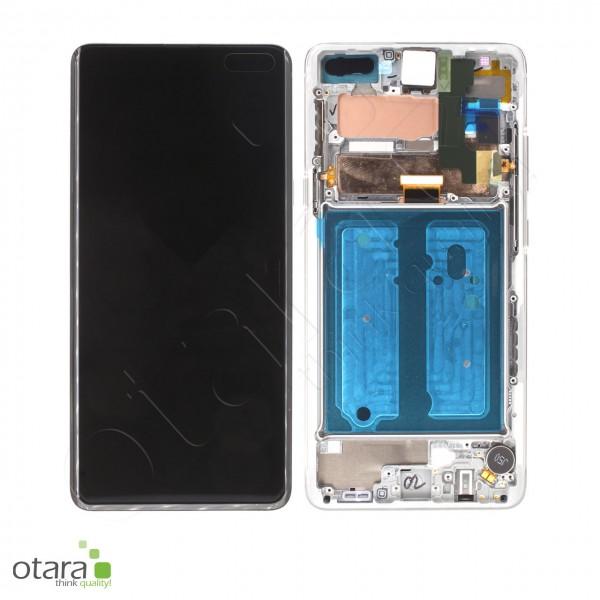 Displayeinheit Samsung Galaxy S10 5G (G977F), Crown Silver, Serviceware