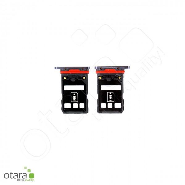 Huawei P30 Pro SIM + SD Tray Dual, schwarz, Serviceware