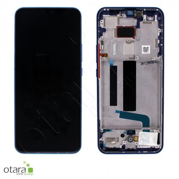 Displayeinheit XIAOMI Mi 10 Lite (M2002J9G), Aurora Blue, Serviceware