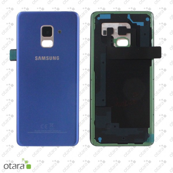 Akkudeckel Samsung Galaxy A8 2018 (A530F), blue, Serviceware