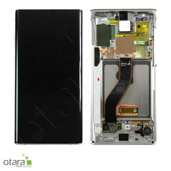 Displayeinheit Samsung Galaxy Note 10 (N970F), aura white, Serviceware