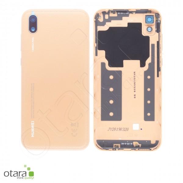 Akkudeckel Huawei Y5 2019, amber brown, Serviceware