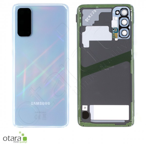 Akkudeckel Samsung Galaxy S20 (G980F|G981B), cloud blue, Serviceware