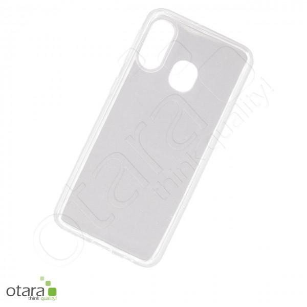 Silikoncase/Schutzhülle für Samsung Galaxy A40, transparent