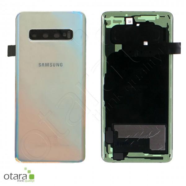 Akkudeckel Samsung Galaxy S10 (G973F), Prism Silver, Serviceware