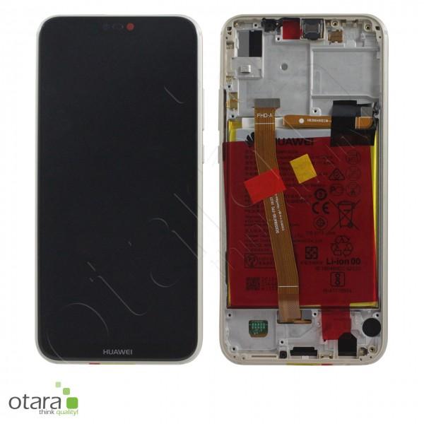Displayeinheit Huawei P20 Lite, platinum gold, Serviceware