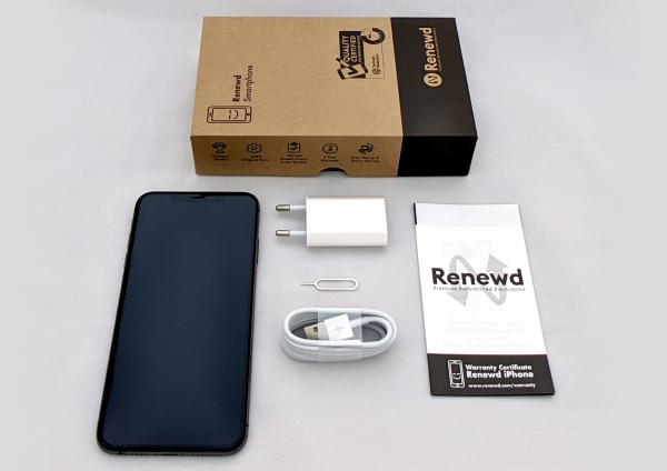 Renewd© Apple iPhone XS Max, 256GB (zert. aufbereitet), schwarz