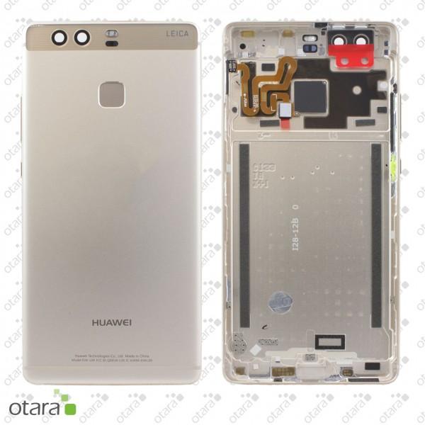 Akkudeckel Huawei P9, gold, Serviceware