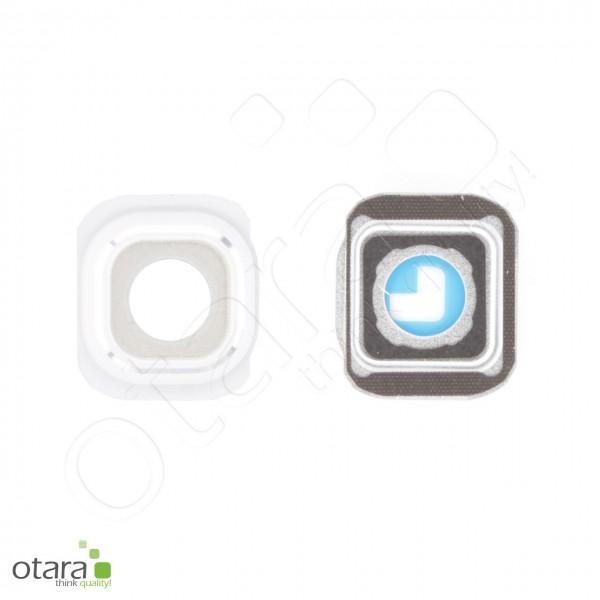 Samsung Galaxy S6 Edge (G925F) Kamera Ring/Abdeckung frame, weiß, Serviceware