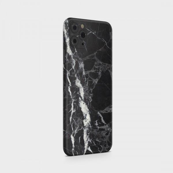 "GREEN MNKY Backcover Skin Smartphone 7"" (Struktur Serie) ""Black Marble"" [3 Stück]"