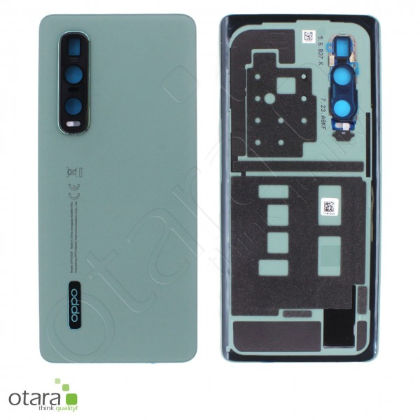 Akkudeckel OPPO FIND X2 Pro, grün, Serviceware