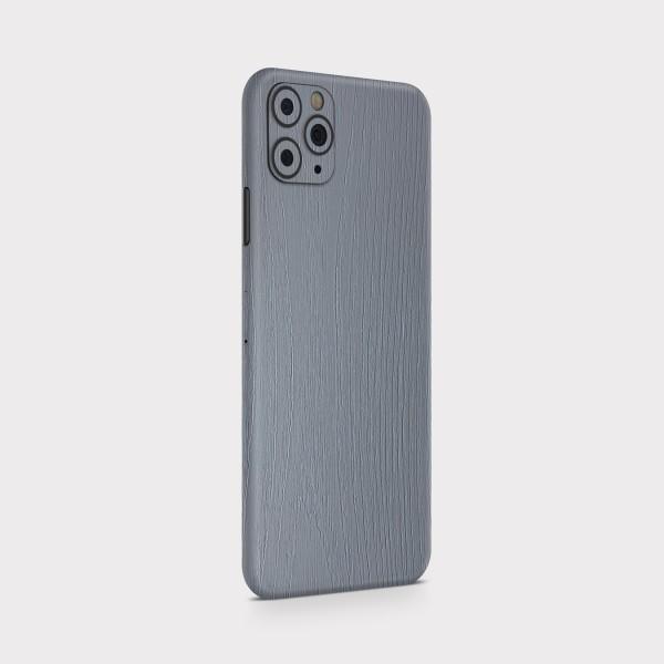 "GREEN MNKY Backcover Skin Smartphone 7"" (Struktur Serie) ""Holzoptik Grey"" [3 Stück]"